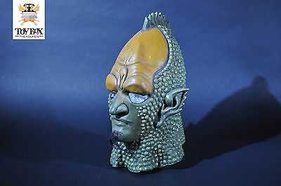 Dr Doctor Who Draconian BBC Licensed Replica head by Imagineering 1987