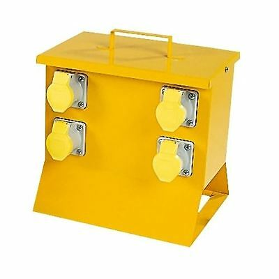 DEFENDER 4 Way MCB Protected Site Distribution Box 110v E13115 (CLEARANCE)