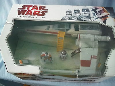 Star Wars Wedge Antilles X-Wing Starfighter Legacy Collection Target Vhtf