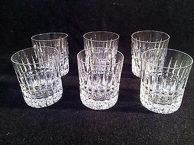 ROYAL BRIERLEY  ~ WHISKY TUMBLERS - GLASSES SIGNED to base Plymouth design