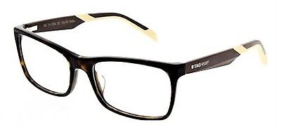 Tag Heuer Optical Men's Tortoise/Ivory Eyeglasses Frames Made In France 0554
