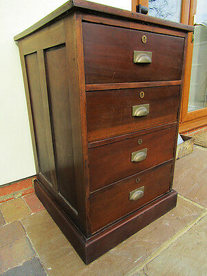 Early 20th Century Industrial Haberdashery Chest Of Drawers