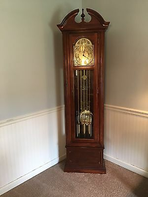 Seth Thomas Grandfather Clock Rare Vintage Collectible