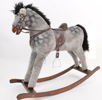BRAND NEW ROCKING MOTORBIKE Wooden Toy rocking horse SPEED from ALANEL SALE...