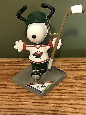 """SNOOPY PEANUTS ON PARADE #8419 WESTLAND GIFTWARE """"Snoopy in the Wild"""" MN Wild"""