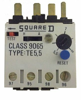Square D Thermal Overload Relay TE5,5