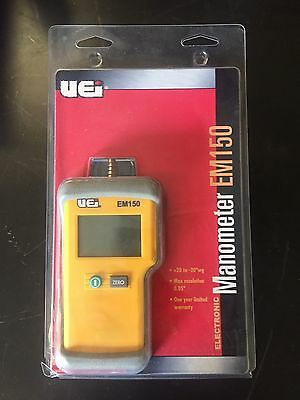 """Electronic Manometer Continuous Pressure Measurement From -20"""" to +20"""""""