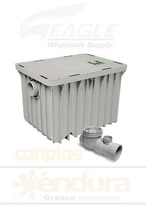 50 GPM - Canplas Endura Grease Trap Interceptor Model 3950A03 - PDI 122 lbs