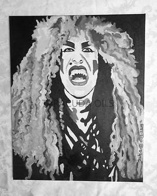 Dee Snider Of Twisted Sister Oil Painting