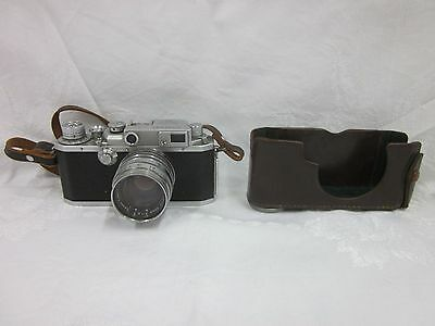 Vintage Canon ID 2D Rangefinder Camera 50mm Lens F:1.8 Japan Untested