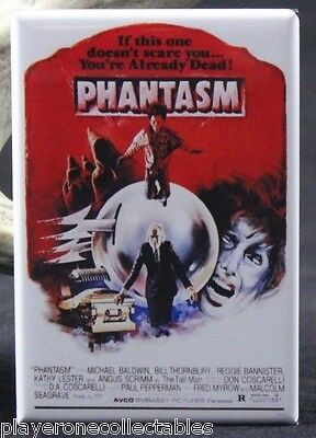 "Phantasm Movie Poster 2"" X 3"" Fridge / Locker Magnet. Classic Horror"
