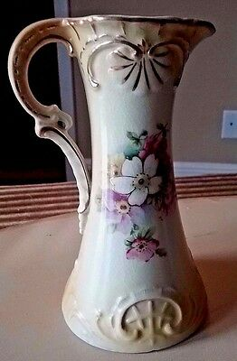 ABSOLUTELY BEAUTIFUL Vintage Vase/Pitcher FROM AUSTRIA~Awesome! L@@K!
