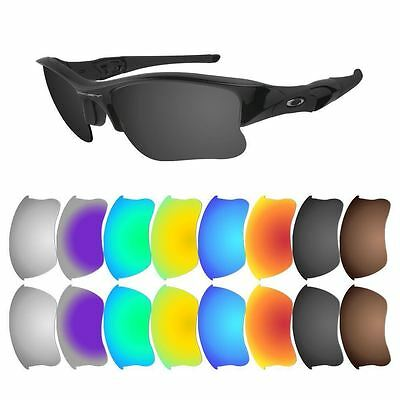 Polarized Replacement Lenses for Oakley Flak Jacket XLJ - Multiple Options