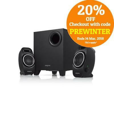 Creative 2.1 Channel SBS A250 Compact Subwoofer Surround Speakers System