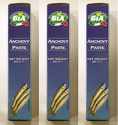 3x GIA Anchovy Paste from Italy