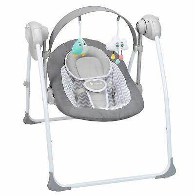 Badabulle Battery Powered Baby / Toddler Comfort Swing With Music / Toys