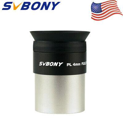 "New 1.25"" Plossl Eyepiece Lens 4mm Fully HD Coated for Astronomical Telescope US"