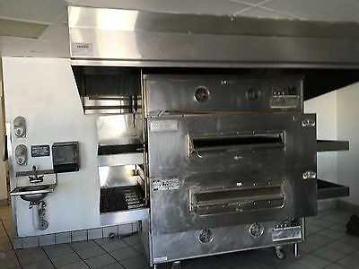 "PS360EWB conveyor oven features a 54.5"" long cooking chamber, a 44"" wide conveyo"