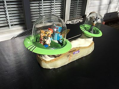 The Jetsons by Ron Lee Sculpture - Jetcar with Astro Trailer - Very Rare!!