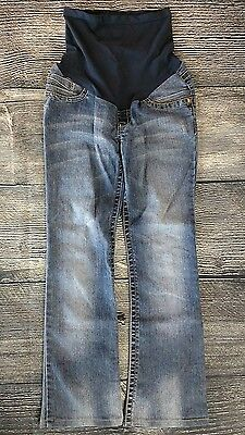 """Wall Flower Maternity Jeans  Pants Size XS Extra Small Boot Cut Stretch 28"""""""