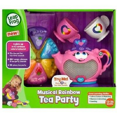 New Leapfrog Magical Rainbow Tea Party 19231K