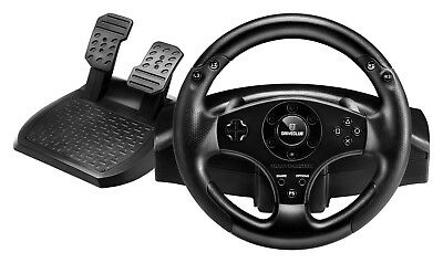 Thrustmaster T80 Steering Wheel and Pedals Gaming Racing For PlayStation PS4 PS3