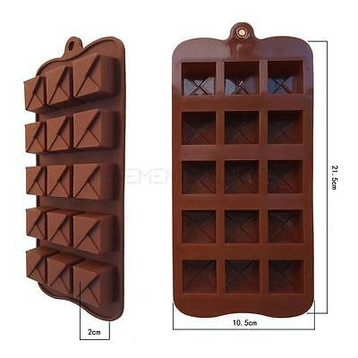 26 Shapes Silicone Cake Decorating Moulds Candy Cookies Chocolate Baking Mold UK
