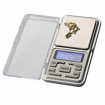 0.01 To 200g Mini Pocket Precision Digital Weight Scale Gold Jewelry Kitchen LAB