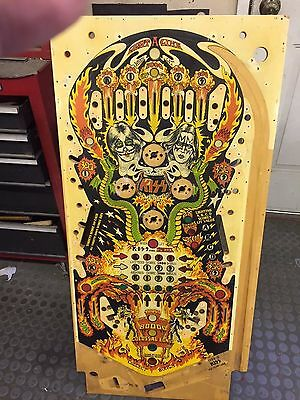 Bally Kiss Pinball nice used playfield to restore or use as is.