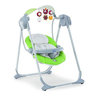 Chicco - Polly Swing Up - Balancelle - Green comme neuve