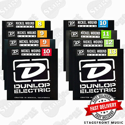 Dunlop Electric Guitar Strings Nickel Wound Various Gauges