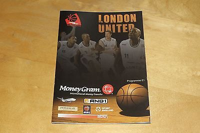 London United - Basketball Programme vs Scottish Rocks, Court Pass 28th Oct 2006