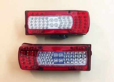 2x LED Rear Lights Combination 360mm Lamps for VOLVO FH12/FM12/FH16 OEM 20425732