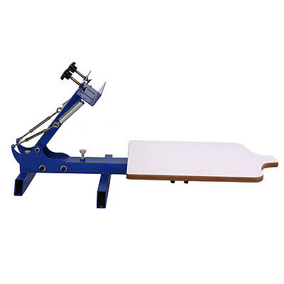 HOT! Simple Single 1 Color 1 Station T-shirt Silk Screen Printing Machine
