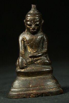 17th Century Antique bronze Ava Buddha statue from Burma | Antique Buddha Statue