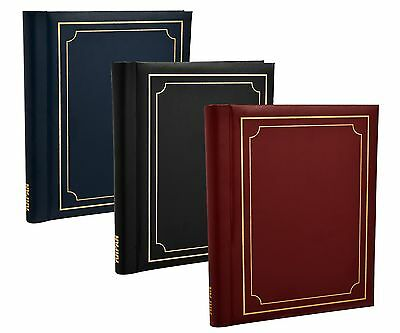 Self Adhesive Large Photo Albums Totalling 60 Sheets 120 Sides Album X 3