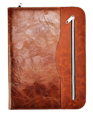 Soft Touch Professional Conference Folder Portfolio A4 -Chocolate Brown CL-512