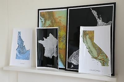 Maps personalised for you, any location,size&colour, ultraHD printed,world maps