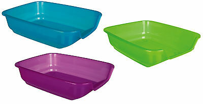 Kitten, Small Cat Rabbit 28 X 9 X 36 Cm Litter Tray Drop Front Easy Access 40396