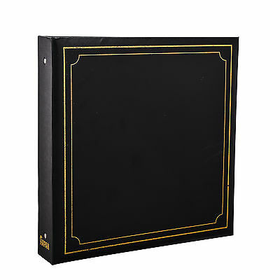Arpan 6x4'' Deluxe Padded Large Photo Album for 500 Photo's Black - AL-9174