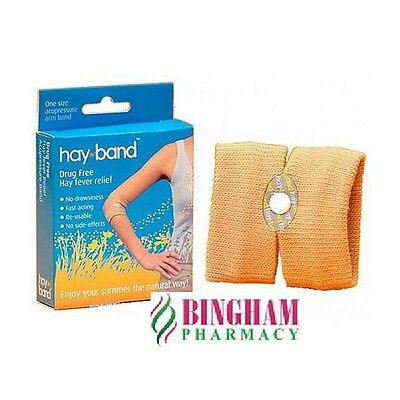 HAY-BAND drug free Season long relief from hayfever **UK STOCK**