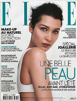 ELLE France 05 May 2017 BELLA HADID Kersti Pohlak BENJAMIN BIOLAY @New@