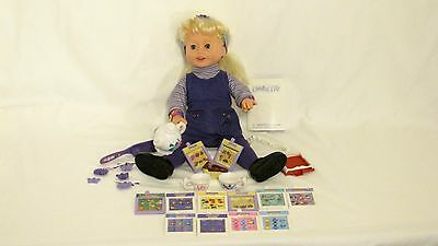 1999 Amazing Ally  Doll With Accesories Instructions And Tea Party  Clothes