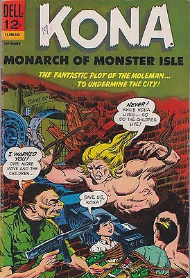 Kona Monarch Of Monster Isle #19 Dell 1966