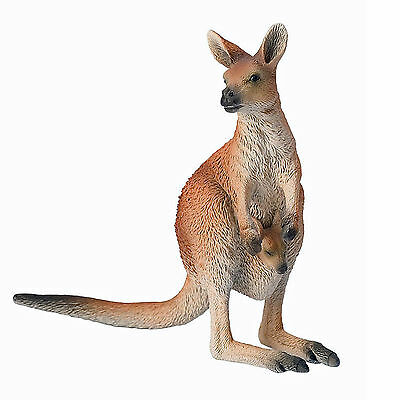 Bullyland Toy Animal Figure of KANGAROO - BUL-63565 - New with Tag