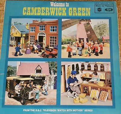 Welcome To Camberwick Green LP  Vinyl (Brian Cant - 1966) MFP 1109 (ID:14932)