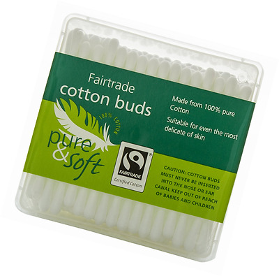 Pure & Soft 200 Cotton Buds Ideal For All Cosmetic Baby And Healthcare Needs