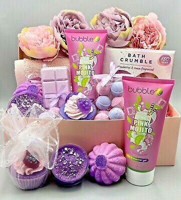 Baby Girl Gift Box / Baby Shower / Mum-to-Be New Mummy Relaxing Pamper Gift Box