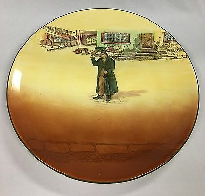 """Vintage Royal Doulton Dickens Ware """"Mr Squeers"""" Charger Signed Noke"""