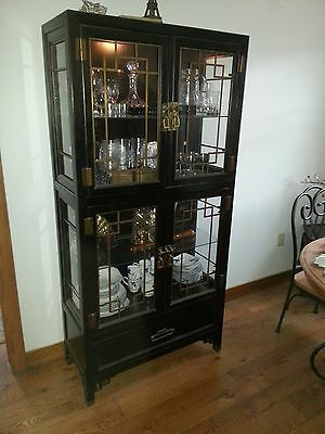 Vintage Curio Cabinet by Century Furniture Co